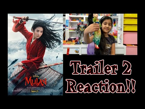 Disney's MULAN OFFICIAL TRAILER REACTION!!!!! | Squishie Reviews