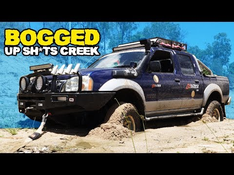 BOGGED UP SH*TS CREEK! - 4WD & Fishing Adventure | Sick Puppy 4x4