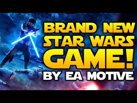 BRAND NEW STAR WARS GAME Announced By EA Motive!