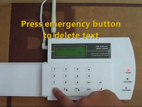 GSM Home Security Alarm System Setup And Operation Tutorial SB GL8088(Z),  GSM Alarm By NoviBo