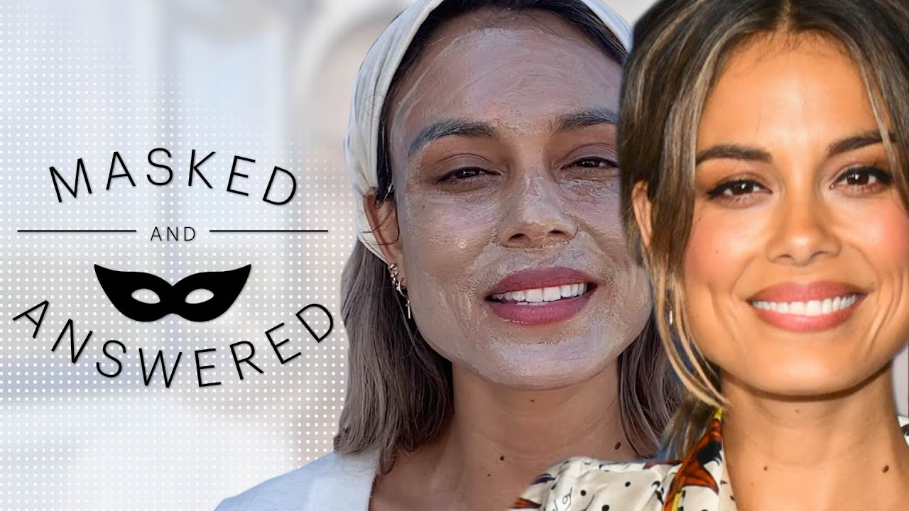Nathalie Kelley Face-Masks and Gives Herself a Sound Bath   Masked And Answered   Marie Claire