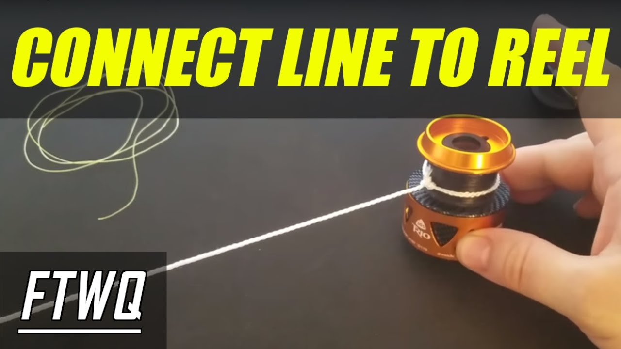 Fishing Knots Arbor Knot How To Tie Fishing Line To Reel Youtube