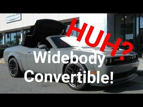 Convertible 2019 Dodge Challenger 392 Widebody Scatpack