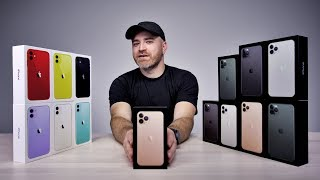 Unboxing Every IPhone 11 IPhone 11 Pro IPhone 11 Pro Max