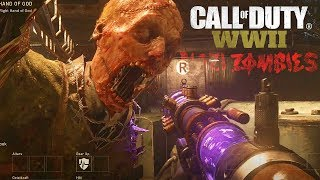 COD WW2 Zombies GAMEPLAY - MI PRIMERA VEZ en Call of Duty ZOMBIES WW2!