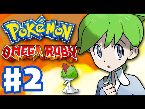 Pokemon Omega Ruby and Alpha Sapphire - Gameplay Walkthrough Part 2 - Helping Wally