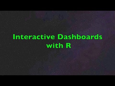 Dashboards with R | Interactive Data Visualization including  Plots, Data Tables and Pivot Charts