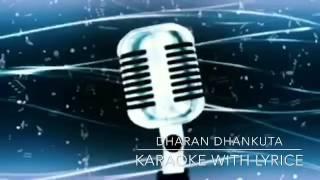 Dharan Dhankuta vedetaar karaoke with lyrice