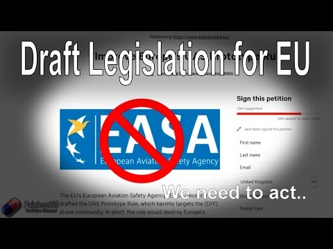 WARNING: EASA Draft for Restrictive Rules for RC Pilots