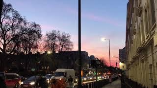 노을/ 런던 야경/ 템즈강변