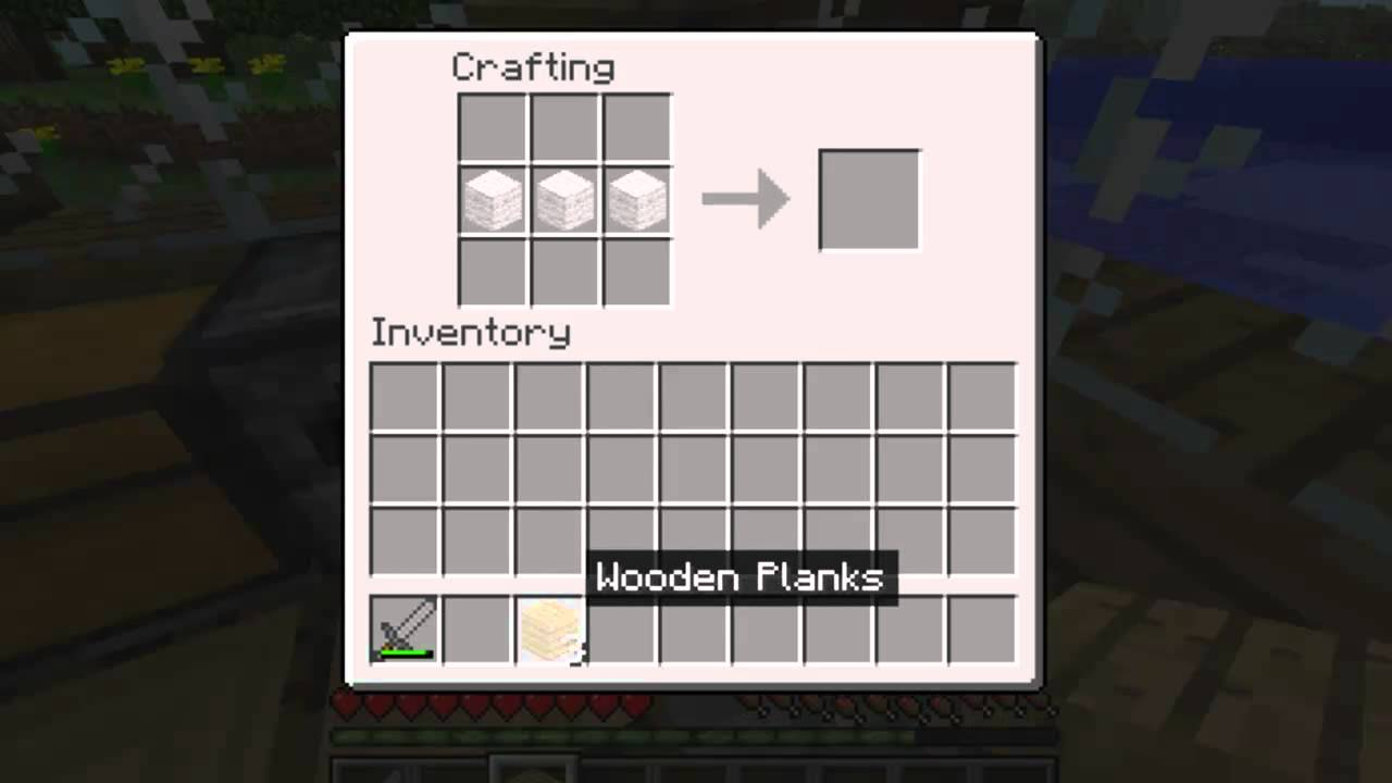 How to make a bed in minecraft 20
