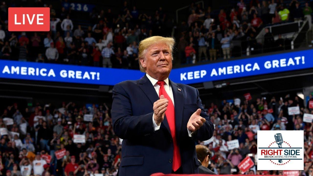 RSBN  President Donald Trump Rally LIVE in Monroe, LA 11/6/19