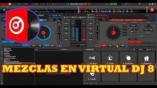 APRENDE A MEZCLAR MUSICA EN VIRTUAL DJ 8 ELECTRO REGGAETON TRAP 2018