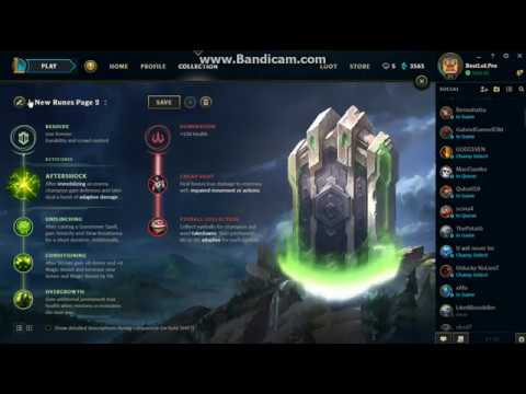 Sion runes   YouTube