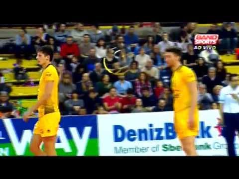 Perugia ( ITA ) x Belchatow ( POL ) - Liga dos Campeões de Vôlei Masculino 2014/15 - Playoff 6