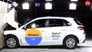 hyundai i30 crash test  2018