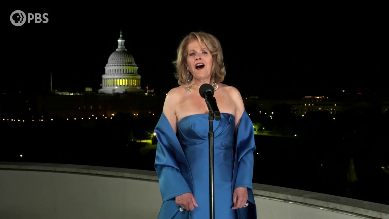 """Renée Fleming Performs """"God Bless America"""" on the 2020 A Capitol Fourth"""