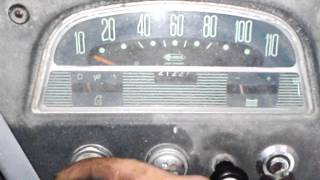 Démarrage Citroën HY Le TUB avec un démarreur refait a neuf