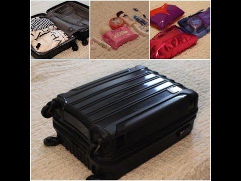 Chuẩn Bị Gì Khi đi Du Lịch Ngắn Ngày ? - Travel Tips- How I Pack My Carry-on Bag