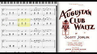 Augustan Club Waltz by Scott Joplin, 1901
