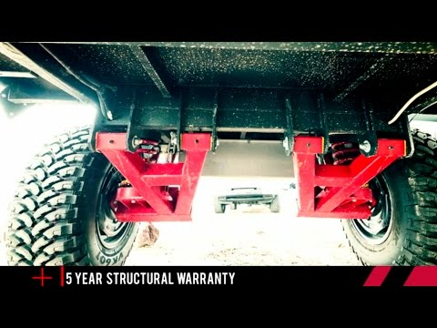 Timbren Axle Less Trailer Suspension System Review