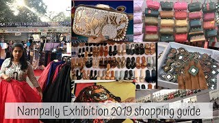 Nampally Exhibition 2019 | Shopping Guide | Sushmitha Neppalli