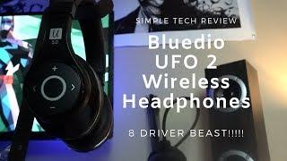 Bluedio UFO2 Review 8 Driver Beast!!!!