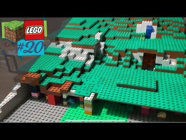 LEGO® X Minecraft World #20 - letzte Arbeiten am Gras-Biom!