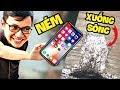 Sơn Đù TROLL BẠN THÂN MAZK BẰNG NÉM IPHONE XUỐNG SÔNG (Sơn Đù Vlog)