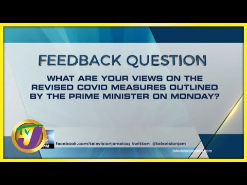 Feedback Question | TVJ News - July 27 2021