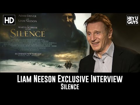Liam Neeson Exclusive Interview - Silence