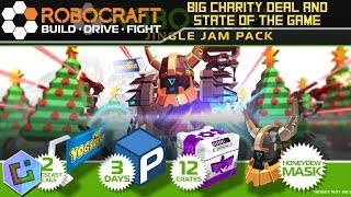 Robocraft - Big Charity Deal and State of the Game