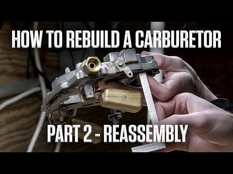 How to rebuild an Edelbrock or Carter AFB carburetor | Part 2 - Reassembly | Hagerty DIY