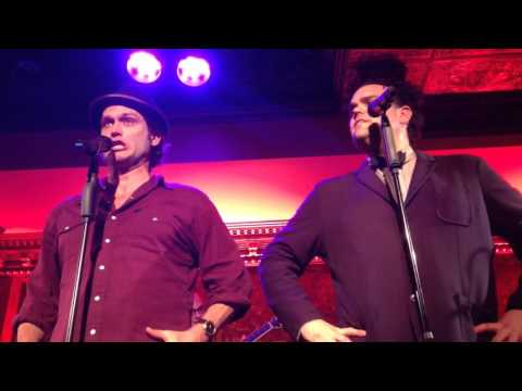 Steven Pasquale and Greg Hildreth singing