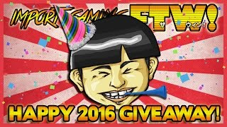 Happy 2016 Giveaway!  Help a Friend and Maybe Win Some Games! *CLOSED*