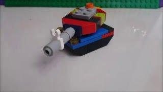 Как сделать Lego танк, самоделка(В этом видео я расскажу как сделать самоделку из lego Танк. Спасибо за лайк и подписку!, 2016-02-01T07:55:13.000Z)