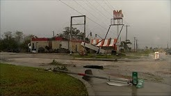 Nearly Every Building in Refugio, Texas Damaged