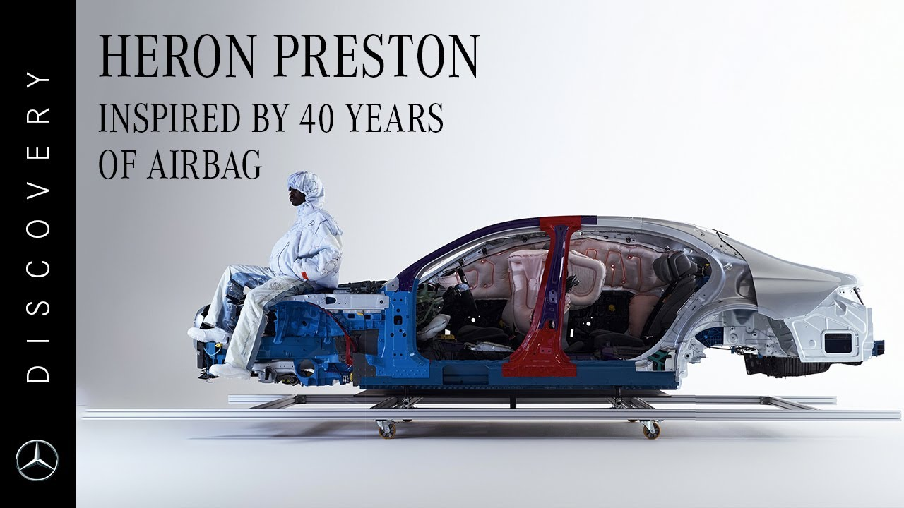 Mercedes-Benz x Heron Preston   Inspired by 40 Years of Airbag