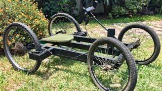 Haciendo carro | GoKart casero con llantas de bicicleta