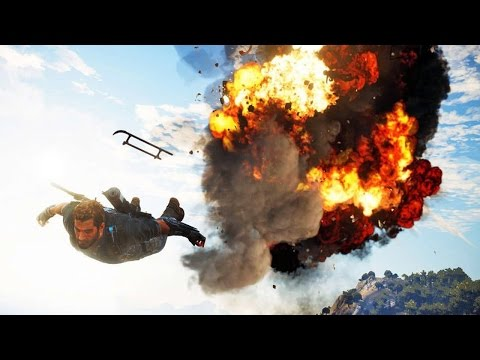 JUST CAUSE 3 - New 360° Trailer (You take control of the trailer !)