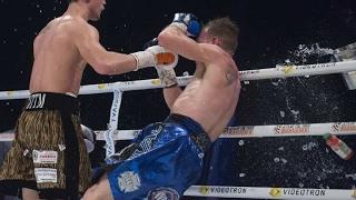 Ведро со льдом нокаутировало боксера в ринге