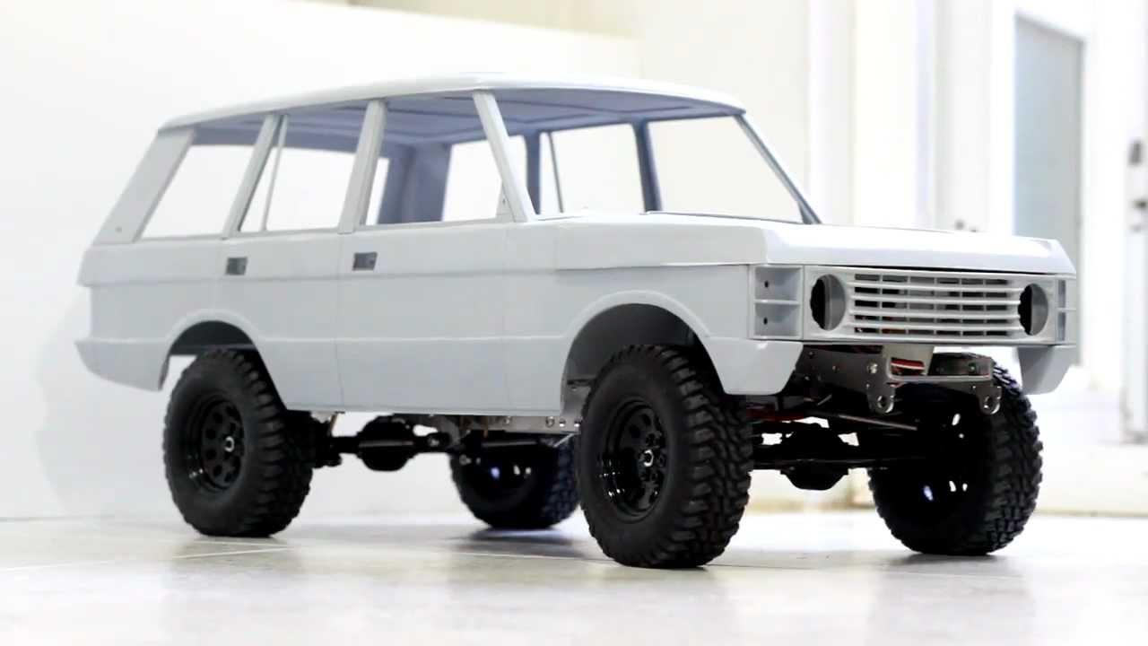 4x4 escala range rover classic rc handmade first run. Black Bedroom Furniture Sets. Home Design Ideas