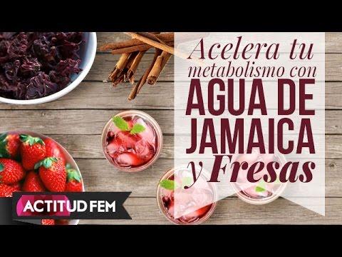 Canela y jamaica para bajar de peso