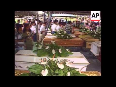 Philippines - Mass Funeral Of Unidentified Bodies