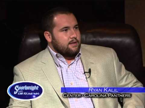 Sportsnight with Bill Rosinski with guest, Ryan Kalil, Pro Bowl center for Carolina Panthers