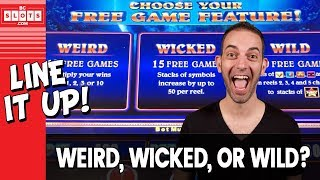 😈 The 3Ws - Which One? 💰 Line It Up @ Greektown Detroit ✪ BCSlots (S. 20 • Ep. 4)