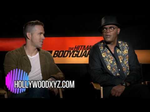 Ryan Reynolds, Samuel L Jackson New Interview The Hitmans BodyGuard