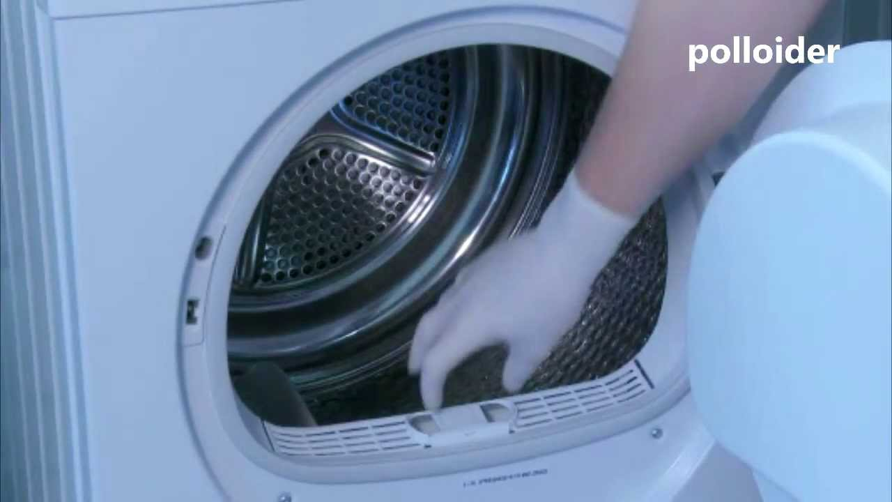 Bosch axxis dryer how to clean filters properly youtube - How to remove lint ...
