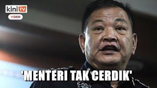 Hamid bidas 'menteri tak cerdik' minta longgarkan sekatan jalan raya