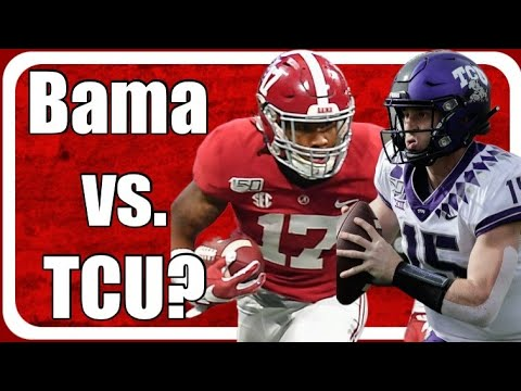 Alabama vs. TCU instead of Alabama vs. USC to open the CFB Season ...